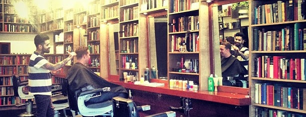 Public Barber Salon is one of San Francisco: Living in the City.