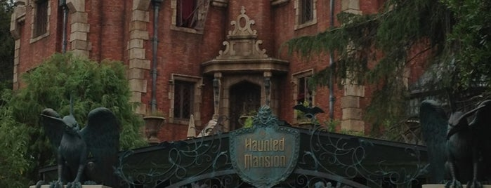 Haunted Mansion is one of Disney.