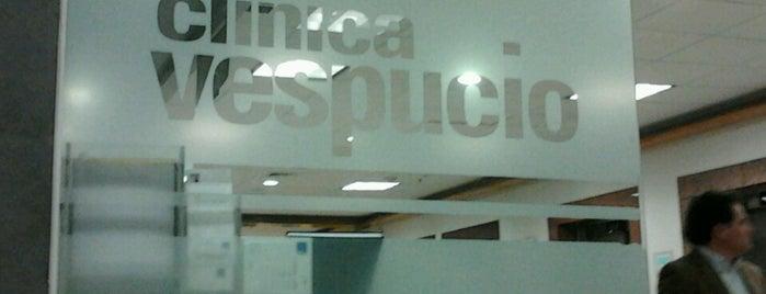 Clínica Vespucio is one of Lugares :).