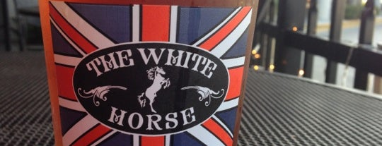 The White Horse Pub is one of DRINKING in SRQ.