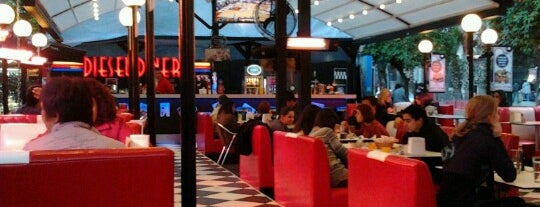Diesel Diner is one of Yerler - Antalya.