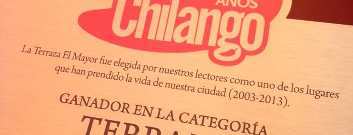 El Mayor is one of El tour de #Chilango10.