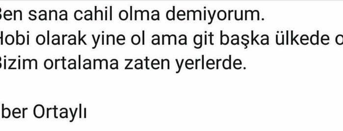 Hasırcıbaşı is one of İstanblue.