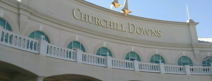 Churchill Downs is one of Louisville.