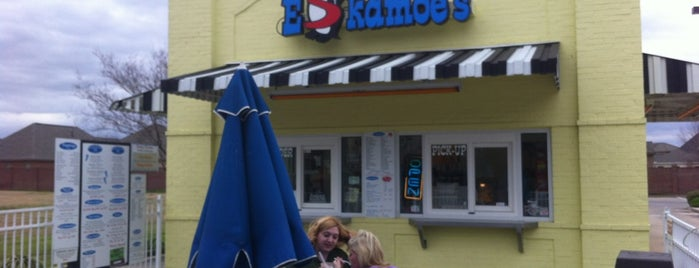Eskamoe's Frozen Custard & More is one of Places on work travel.