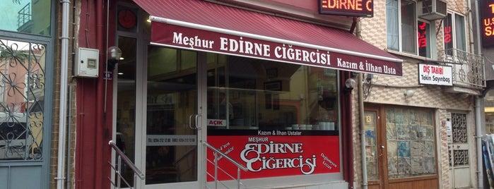 Meşhur Edirne Ciğercisi Kazım ve İlhan Usta is one of yemeicmeturizm.