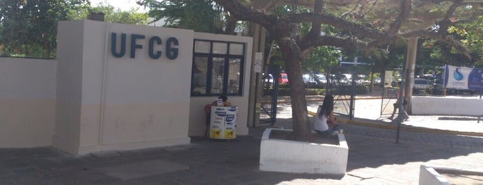 Universidade Federal de Campina Grande (UFCG) is one of Lugares que mais frequento.