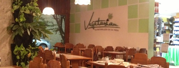 Vegetarian is one of 20 favorite restaurants.