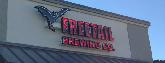 Freetail Brewing Company is one of San Antonio.