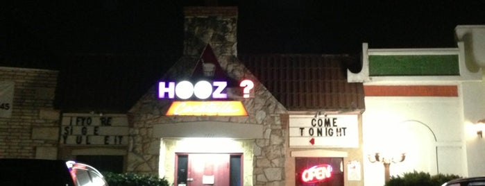 Hooz Cocktails is one of Current Best Of San Antonio 2012.