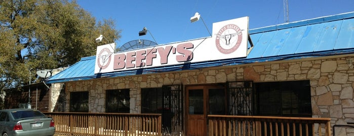 Beefy's Backyard is one of The 15 Best Places for Onion Rings in San Antonio.