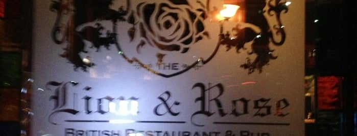 The Lion & Rose British Restaurant & Pub is one of SA To Do List.
