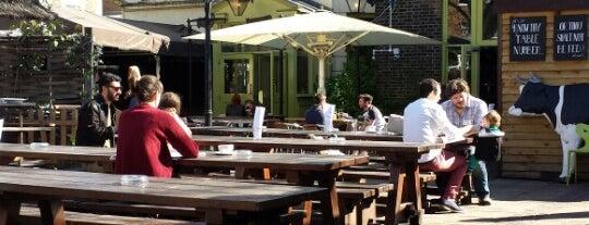 Edinboro Castle is one of London's Best Beer Gardens.