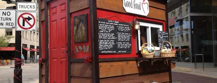 Good Food Cart is one of The 15 Best Places for a Healthy Food in Madison.