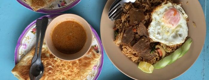 ร้านโรตีน้ำแกง-น้ำชา (เกาะหมี) is one of ร้านอาหารมุสลิม.