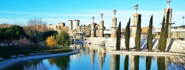 Parc de l'Espanya Industrial is one of Barcelona to-do list.