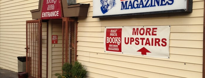Half Price Books is one of Current Best Of San Antonio 2012.