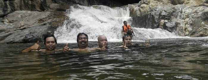 Lasir Waterfall(18km From Pengkalan Gawi) is one of @Hulu Terengganu.