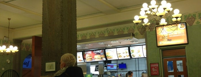 McDonald's is one of Oulun must do.