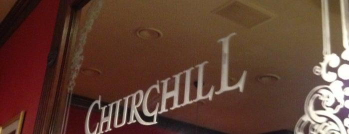 Churchill is one of Еда ням-ням.