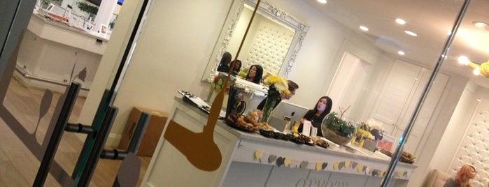Drybar, a blowdry bar is one of It's Tough Being a Girl.