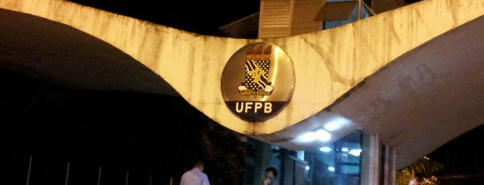 Federal University of Paraiba is one of Frequente.