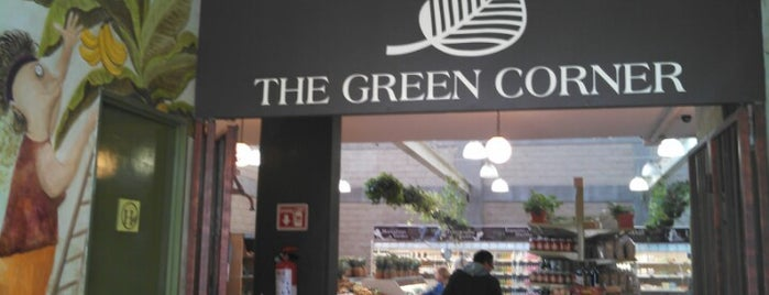 The Green Corner is one of Restaurantes.