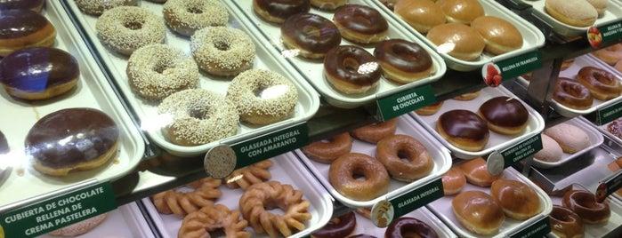 Krispy Kreme is one of Mexico // Cancun.