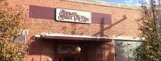 Thomas Street Tavern is one of Clt drank.