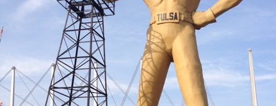 Golden Driller is one of Oklahoma Must Try.