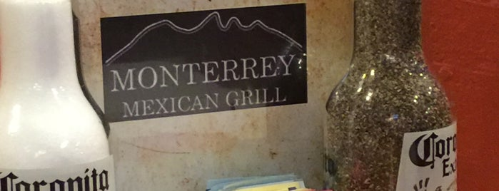 Monterrey Mexican Grill is one of favs.