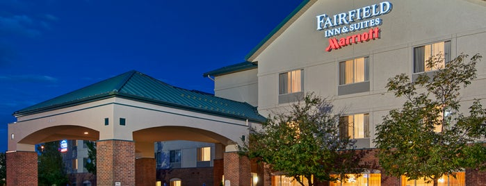 Fairfield Inn & Suites Denver Airport is one of Hotels.