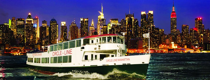 Circle Line Sightseeing Cruises is one of NYC SCENERY by the water.