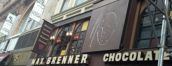 Max Brenner is one of NYC Treats.