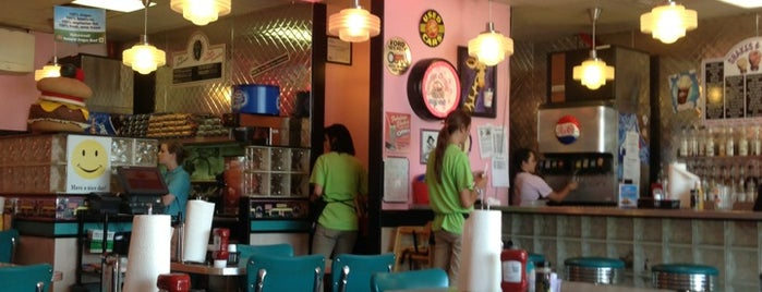 Cheeburger Cheeburger is one of Cool off in Huntsville with these sweet treats.