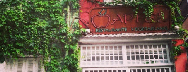 Apfel Restaurante Vegetariano is one of Vegans SP.
