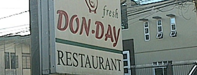 Don-Day Fresh Korean BBQ & Restaurant is one of ?.