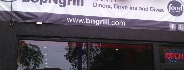 bopNgrill is one of The 15 Best Places for Burgers in Chicago.
