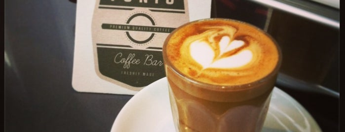 Tonic Coffee Bar is one of London's Best Coffee.