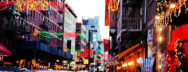 Little Italy is one of nyc.