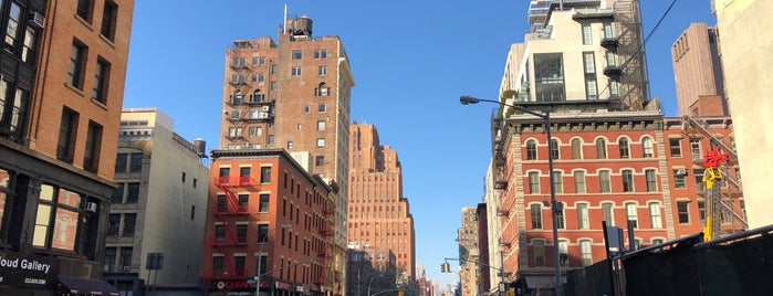 TriBeCa is one of LUGARES VISITADOS.