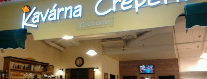 Kavárna Creperie is one of PRG.