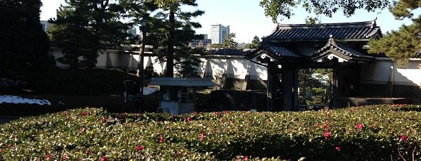 Kitahanebashimon Gate is one of 東京散策♪.