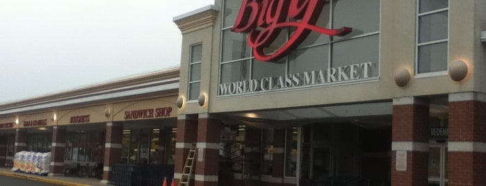 Big Y World Class Markets is one of BTown spots.