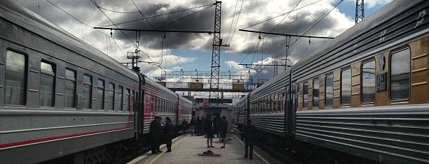 Ж/Д вокзал Пермь-2|Perm-2 Train Station is one of Russian Railways Russia.