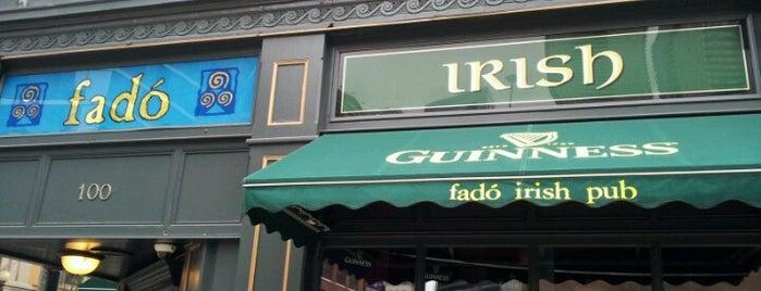 Fadó Irish Pub & Restaurant is one of Chicago.