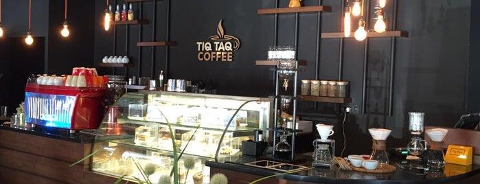 Tiq Taq Coffee is one of alsancak.