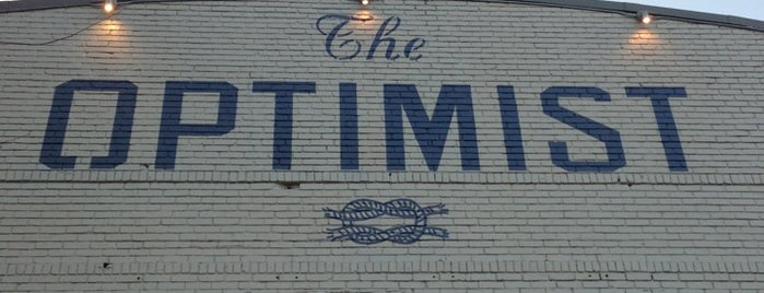 The Optimist is one of Eat/Drink Local.