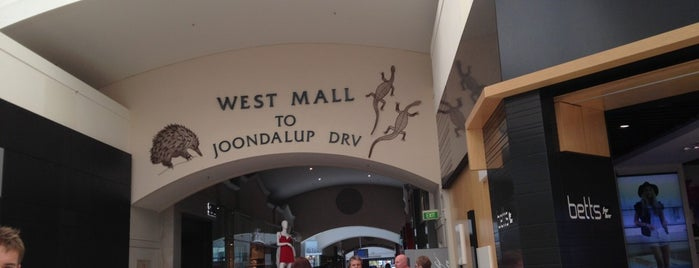 Lakeside Joondalup Shopping Centre is one of favourite.