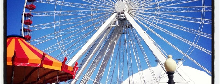 Navy Pier is one of Chicago Out and About.